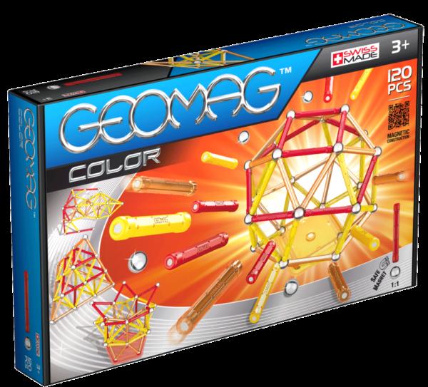 Geomag Color má dlouhé tyčinky