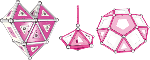 Ukázky modelů Geomag PINK